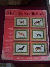 McCalls Needlework Fall-Winter 1952-53 Knitting Crocheting Crafts Magazine