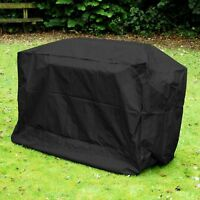 XL BBQ Cover Strong Waterproof Rain Snow Barbeque Grill Protector Black 200cm