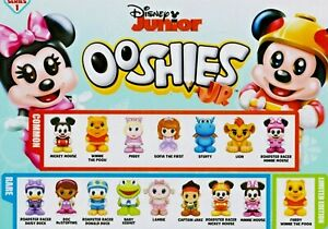 OOSHIES JUNIOR Common, Rare & Limited Edition Disney Junior's - Choose you own!