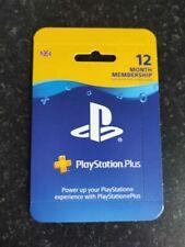 Playstation PLUS Membership 12 months UK PS+ 1 year