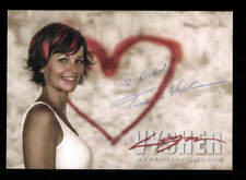 Evelyn Vysher Autogrammkarte Original Signiert ## BC 134760