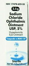 Akorn Sodium Chloride Ophthalmic Eye Ointment 5% 3.5gm - Expiration Date 05-2023