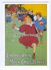 ad0540 - Cadburys Milk Chocolate - Children & Chocolate  Modern Advert Postcard