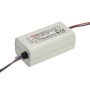 █►Meanwell APV-12-24  LED Trafo 24V - bis 12 Watt 24V Konstantspannung bis 0,5A