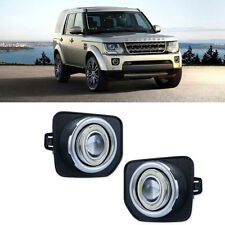 For Land Rover Discovery 4 DRL COB Angel Eyes Fog lights Projector Lamp Bumper