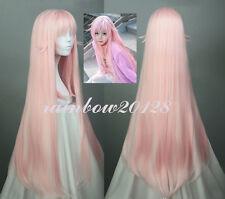 "40"" Light Pink K RETURN OF KINGS NEKO Straight Anime Cosplay Wig"