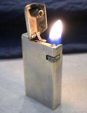 BRIQUET Ancien ( Dunhill Broadboy MK1 ) Vintage Wick LIGHTER Feuerzeug Accendino