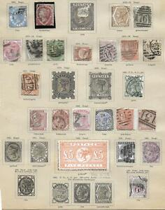 Great Britain stamps Collection of 23 CLASSIC stamps HIGH VALUE!