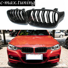 Carbon Fiber Front Kidney Grill For BMW 3 Series F30 F31 M3 Style Grille 2012 +