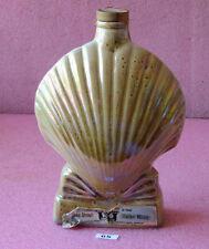 Jim Beam Whiskey Empty Liquor Bottle Decanter_Sea Shell Head Quarters of the_#65