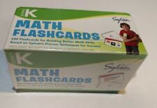 Math Flashcards: Grade K Math Flashcards by Sylvan Learning...