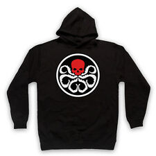 CAPTAIN AMERICA HYDRA RED SKULL T-SHIRT UNOFFICIAL FILM ADULTS & KIDS HOODIE
