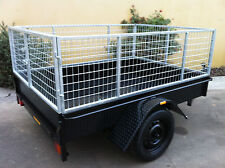 Box Trailer 7X5 FT  H DUTY WITH CAGE  7x4 8x4 8x5 9X5 10X5 ALSO AVAILABLE
