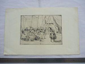 SANGERS CIRCUS Period an original artwork by SLADE Artist Harold Duke Collison-M