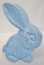 "ART DECO Flaxman WADE HEATH Blue Rabbit 7 7/8"" Tall Model 305 Made in England"