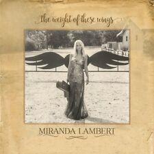 MIRANDA LAMBERT - THE WEIGHT OF THESE WINGS  2 CD NEW+