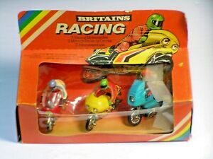 Britain's 9652 Motorcycle Set in Box