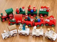 Christmas Decorations Christmas Woods Small Train Children Kindergarten Festive