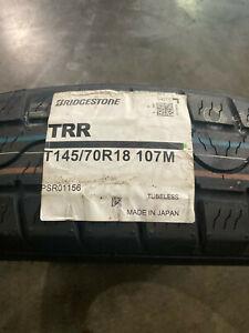 1 New T 145 70 18 Bridgestone TRR Temporary Tire