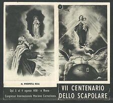Estampa antigua del Profeta Elias andachtsbild santino holy card santini
