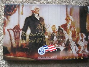 (Two)  2007-S US Mint Presidential $1 Coin Proof Set