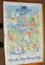 Lyons Decaffienated tea bags tea towel