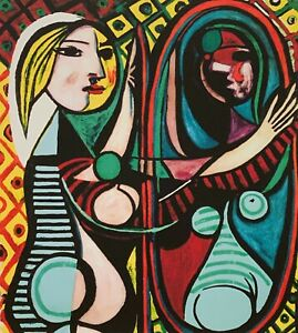 """PABLO PICASSO """"Girl Before A Mirror"""" Limited Edition Colour Giclee"""