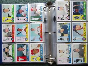 2009 TOPPS HERITAGE COMPLETE SET LOT(425) w/o SP's, w/INSERT SETS, TARGET MAYO'S