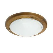 Kanlux TIVA 1030 MDR/ML-DB 60 Watt Oak Ceiling Light Fitting