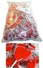 Bulk 100 x Red Heart Pops Lollipops Candy Buffet Lollies Party Favors Valentines