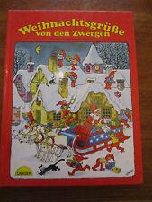 (e845) Kids Book weihnachtsgrüsse of the Dwarves Emery Hansen Carlsen 1987