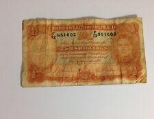Commonwealth of Australia Ten Shilling Note