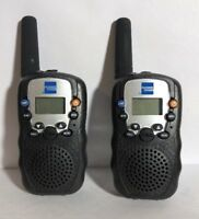Walkie Talkie 2 Pcs UHF LCD Display Flashlight 2-Way Radio New