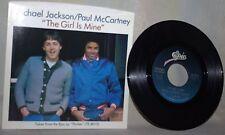"The Beatles-Paul McCartney & Michael Jackson-45 RPM-7""-Epic-""The Girl is Mine""#3"