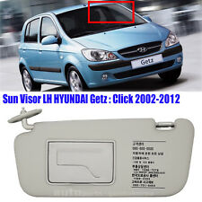 852101C200QS Sun Visor Inside Driver Left LH Gray HYUNDAI GETZ CLICK