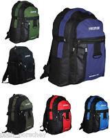 Backpack Rucksack Travel Gym School Sports Work Bag College Uni Mens Boys A4