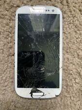 Samsung Galaxy S3 16GB WHITE Smartphone PARTS/REPAIR 1006