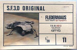 Nitto Maschinenkrieger Ma.K. S.F.3.D. P.K.40 Fledermaus 1:20 Series 11 Kow