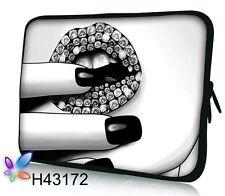 "17-17,3"" LAPTOP SLEEVE CARRY CASE BAG 4 ALL LAPTOPS, FREE POST #Diamond Lips#"