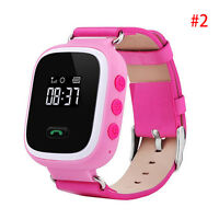 Practical Children Kid Anti-Lost Smart Watch GPS Tracker For Android IOS &Phone.