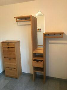 Garderobe Erle Massivholz