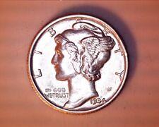 New listing 1934-D Mercury Head Silver Dime <> Ch/Bu