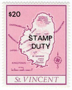 (I.B) St Vincent Revenue : Stamp Duty $20