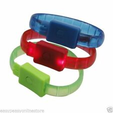 Bracciali di bigiotteria multicolore in plastica