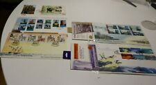 1998 NEW ZEALAND NZ FDC COVERS x5 ROSS DEPENDENCY,A NEW BEGINNING,TOWN ICONS