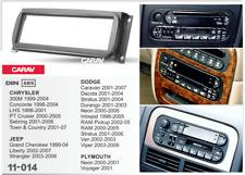 Car Stereo Radio Fascia Panel 2 Din Frame Kit for CHRYSLER/JEEP/DODGE/PLYMOUTH
