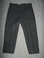 Vintage Eddie Bauer Gray Red Green Wool Plaid Hunting Men'S Pants 36 X 27