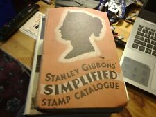 Vintage Stanley Gibbons' Simplified Stamp Catalogue 1942 - VG-