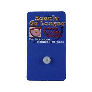 Fake piercing tongue bioflex (5 Colors)