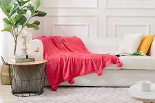 Luxury Teddy Bear Super Soft Cuddly Fleece Warm Sofa Bed Blanket Throw Mink 150x200cm
